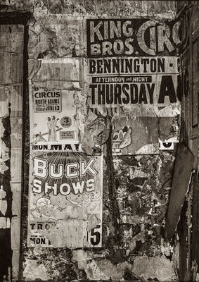 Buck Shows, Hoosac, NY, June 1972