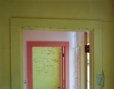 Ladies Room Doorframe Building 6