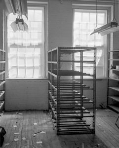 Emptied Shelving, Building 17