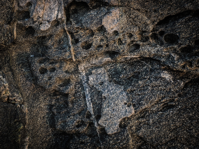 Skull in the Rocks