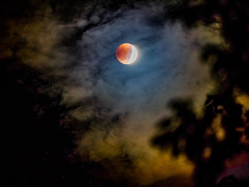 Blood Moon Eclipse - Dark Forms